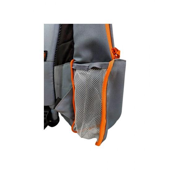 "HP Duotone 15.6"" Laptop Backpack Grey/Orange"