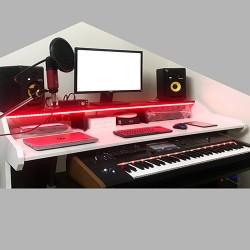 Wolf Claw Studio Desk or Table L60xW27xH30 BW